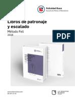 Catálogo Libros de Patronaje 2016_
