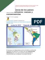 Analiza Los Procesos de Expansión Territorial Desarrollados Por Europa Durante El Siglo XIX y Las Nuevas Manifestaciones Imperialistas Observadas en Las Sociedades Contemporáneas