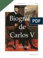 Biografia Carlos v - C Verdejo