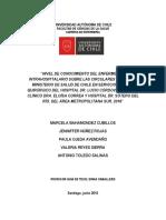 NIVEL DE CONOCIMIENTO DEL ENFERMERO SOBRE LAS CIRCULARES 34 Y 21 DEL MINISTERIO DE SALUD CHILE.pdf