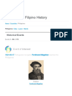 Filipino History - On This Day