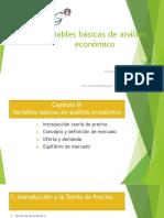 Variables Basicas de Analisis Economico.