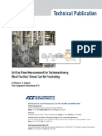 #Air-Gas Flow Measurement 4 Turbomachinery