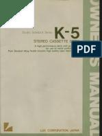 deck luxman k5