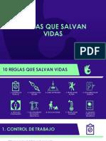 HSE Desafio Cero_10 Reglas Que Salvan Vidas