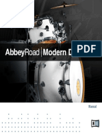 Abbey Road Modern Drummer Manual English