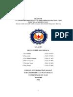 Makalah Kelompok 2_standar Minimal Pengelolaan Limbah Padat Dan Cair Pada Wilayah Bencana
