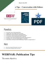 Publication Tips