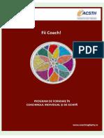 Fii Coach Coachingdipity Martie 2019