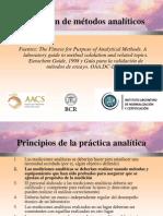 Diapositivas de validación, instituto argentino de normalización y certificación