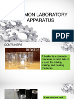 Common Laboratory Apparatus