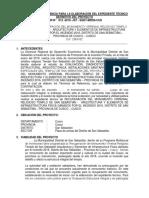 TDR - Expediente Tecnico
