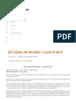 [5 Lições de Neville] 25