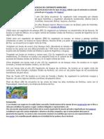 Fisicas Climatologicas Del Continente Americano