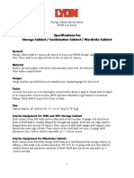 LYON DD1050 Specification Sheet
