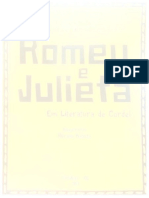 Capa - Romeu e Julieta - Fichamento de Leitura