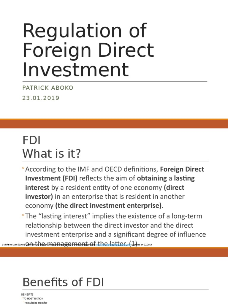 Direct investment definition imf uk business investment 2021 gmc