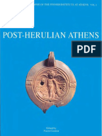 Post Herulian Athens Aspects of Life and Culture in Athens a D 267 529