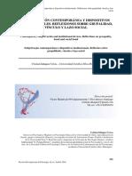 Subjetivación contemporánea y dispositivos institucionales. Reflexiones sobre grupalidad, vínculo y lazo social-C. Idiáquez