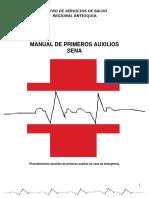Manual 2016 de Primeros Auxilios Sena
