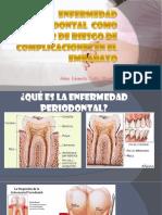 enfermedad periodontal como factor de riesgo de complicaciones en el embarazo