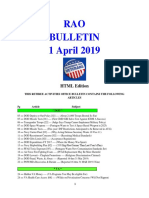 Bulletin 190401 (HTML Edition)