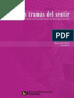 Cervio Ana Lucia - Las tramas del sentir Ensayo desde una sociologia de los cuerpos y las emociones.pdf