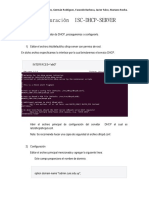Configuración  ISC-DHCP-SERVER