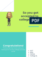transition to college