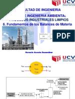 6. Sesion. Balance de Materia en Operaciones Unitarias (1)