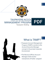 TAMP Briefing