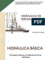 Hidráulica de Perforacion Itspr Ip