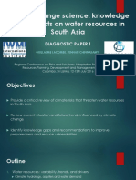 Climate Change and Impacts on South Asia