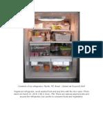 Contents of my refrigerator, Recife, PE, Brasil - Dalbert de Souza ⌬ 2019