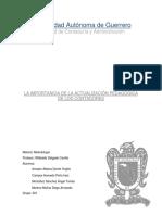 301 La Importancia de La Actualizacion Pedagogica Del Contador