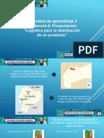 Evidencia 6 Presentación Logística Para La Distribución de Un Producto