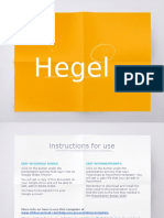 Hegel Work