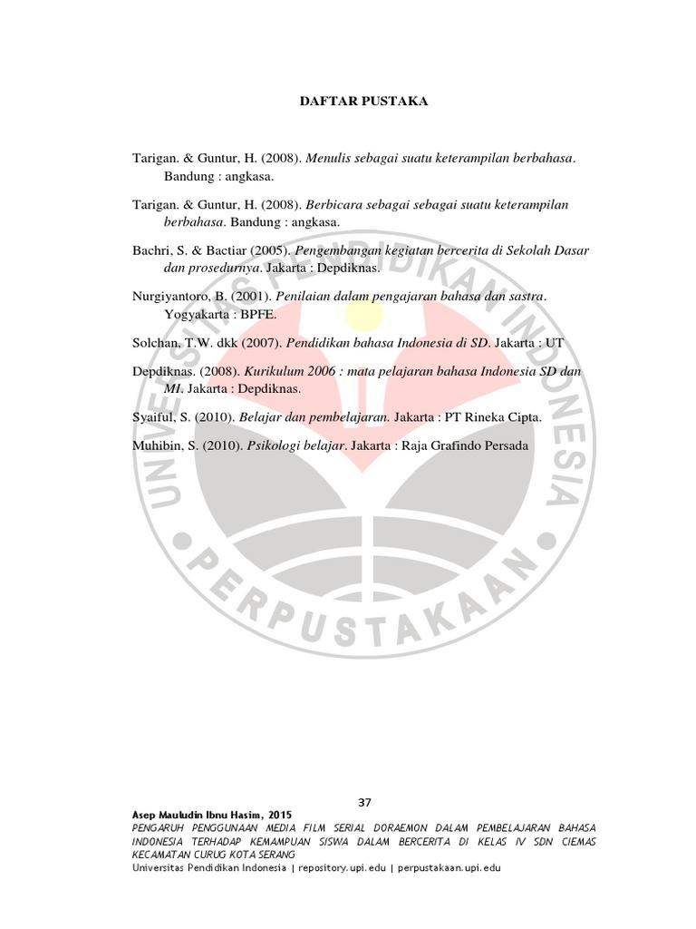 S Bhs B Kdserang 1102223 Bibliography