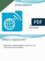 Allocation of Wireless Spectrum
