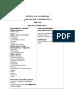 Practica Deidentificación de Fibras 4 Metodos