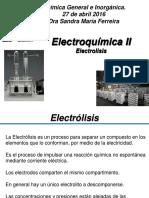 Electrolisis Electroquimica