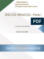 18. Efectos Térmicos 2018 II