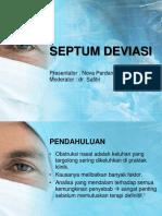 Septum Deviasi Pp