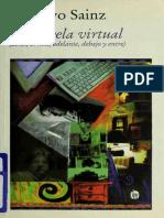 La novela virtual _ atras, arri - Sainz, Gustavo, 1940-.pdf