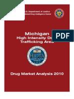 "Michigan Drug Market Analysis and ""Threat Survey"" 2010 (DOJ)"