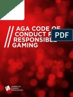 AGA Code of Conduct for Responsible Gaming_Final 7.27.17