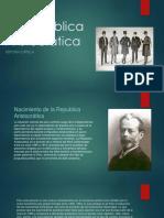 Republica Aristocrática