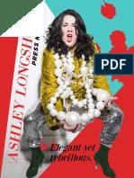 Ashley Longshore Press Kit 2017