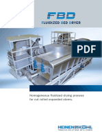 report on fluidised bed dryer