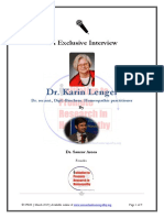 An Exclusive Interview with Dr Karin Lenger